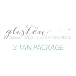 3 Spray Tan Package