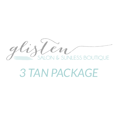 3 Spray Tan Package