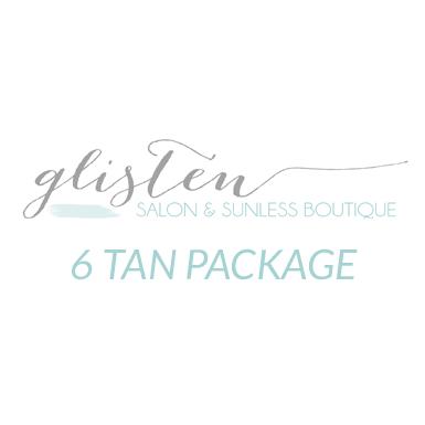 6 Spray Tan Package
